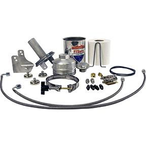 Frantz Filter Ford Powerstroke 6.0-6.4 with Custom hoses